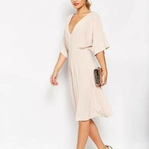 Pale pink Asos dress